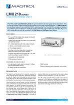 LMU 210 Series   Load Monitoring Units