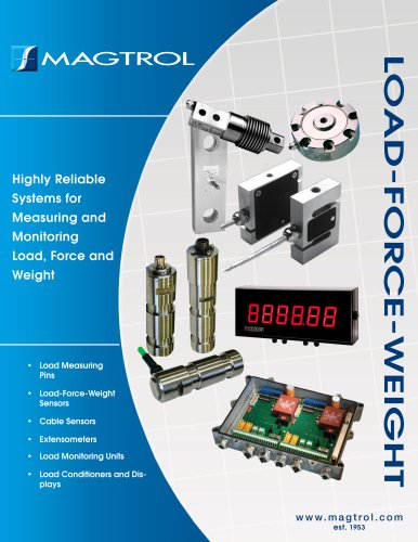 Load-Force-Weight Measurement Systems