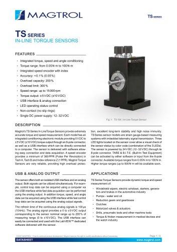 TS Series | Torque Sensor