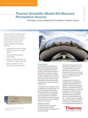 84i permeation source