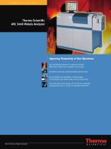 ARL 3460 Metals Analyzer