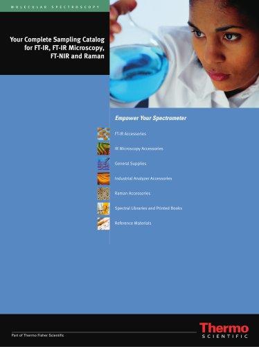 Complete Sampling Catalog for FT-IR, FT-IR Microscopy, FT-NIR and Raman