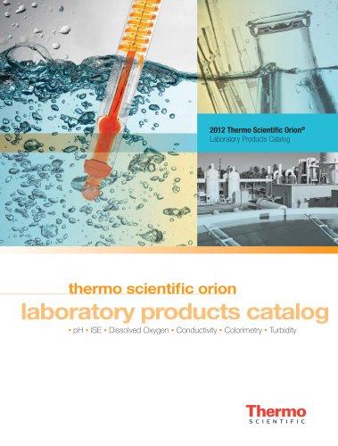 Thermo scientific orion laboratory products catalog
