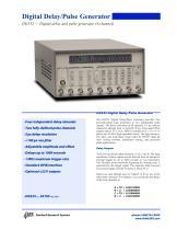 DG535 Digital Delay/Pulse Generator