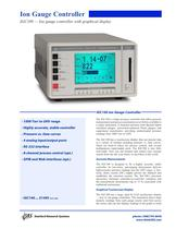 IGC100 Ion Gauge Controller