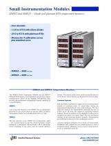 SIM922/923Diode & Pt RTD Temperature Monitors