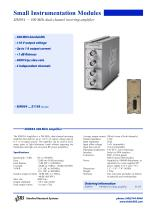 SIM954300 MHz Inverting Amplifier