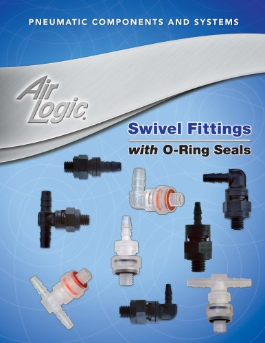 Swivel Fittings with O-Ring Seals