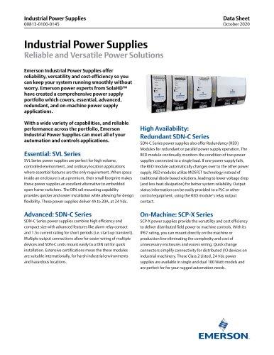 Industrial Power Supplies