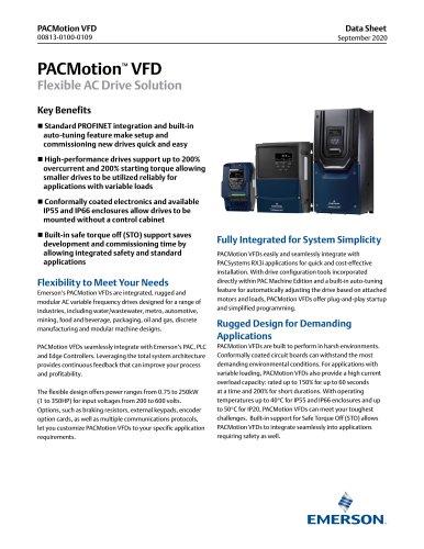 PACMotion VFD