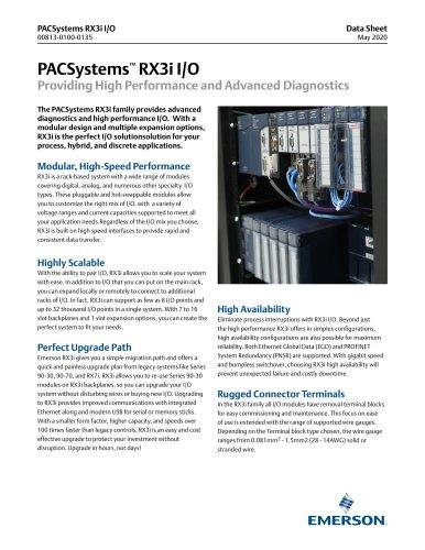 PACSystems RX3i I/O