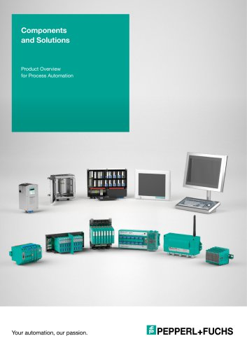 Components and Solutions for Process Automation