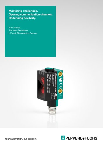 R101 Series | The new Generation of Small Photoelectric Sensors