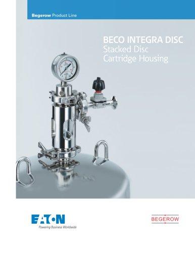 BECO INTEGRA DISC Stacked Disc Cartridge Housing