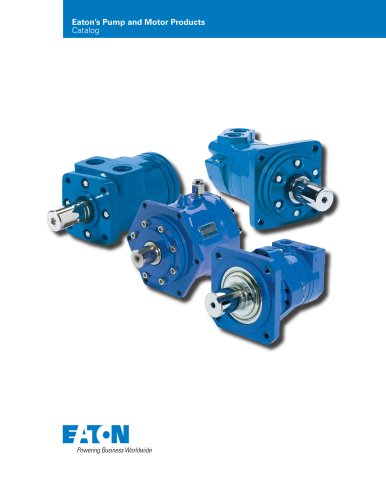Eaton?s Pump and Motor Products