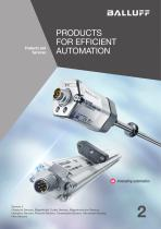 PRODUCTS FOR EFFICIENT AUTOMATION volume 2