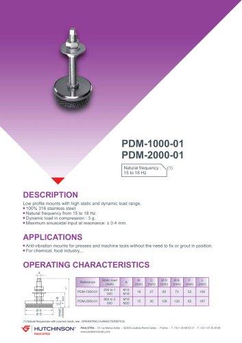 PDM-1000-01 / PDM-2000-01