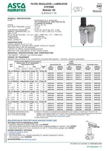 Series 342 Type Modulair