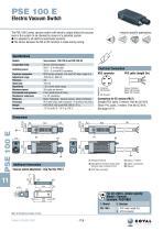 Electric Vacuum Switch, PSE100E Series