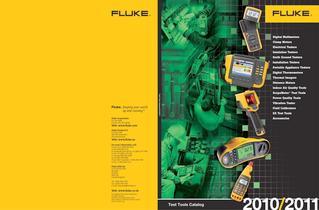 Test Tools Catalog 2010-2011