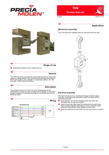 TVN tension load cell