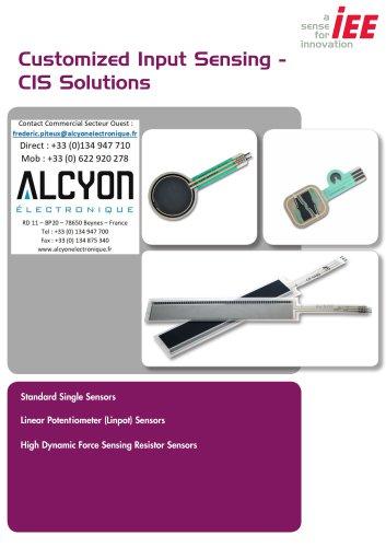 IEE catalogue capteurs de Force/Detection FSR (ALCYON Electronique 01 30 94 77 00) FP