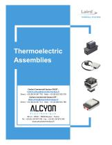 LAIRD TEA Thermoelectric-Assemblies-Catalog (ALCYON Electronique 01 30 94 77 00)