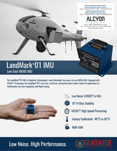 LandMark™01 IMU