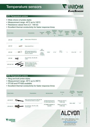 Variohm Temp SensorDistributorGeneral_1606_B(Alcyon Electronique 01 34 94 77 00)