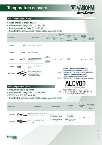 Variohm TemperatureSensorDistributorGeneral_1606_B(Alcyon Electronique 01 34 94 77 00)