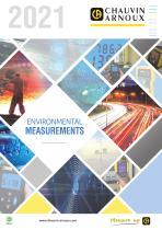 Selection for Environmental Measurements 2021