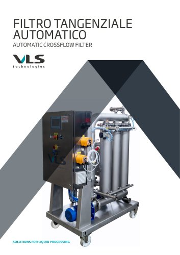 Automatic Crossflow Filter - TMF-A