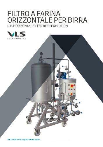 D.E. Horizontal Filter Beer Execution - FOB-BVA
