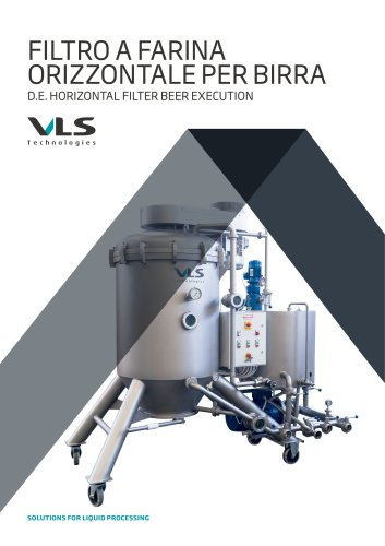 D.E. Horizontal Filter Beer Execution - FOC-BVA