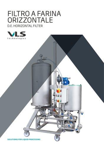D.E. Horizontal Filter - FOB