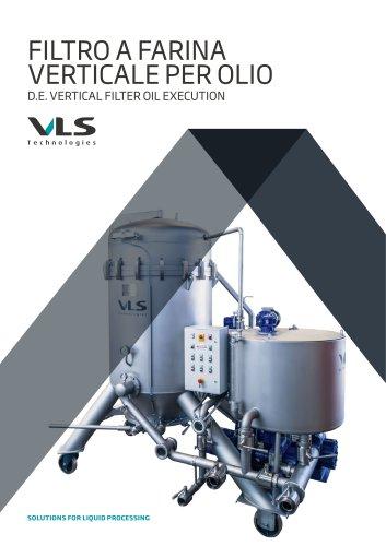 D.E. Vertical Filter Oil Execution - FVO