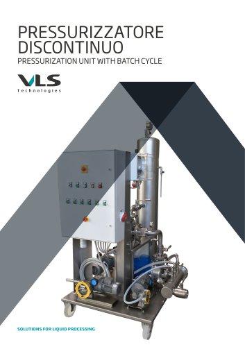 Pressurization Unit With Batch Cycle - PFB