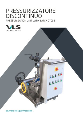 Pressurization Unit With Batch Cycle - PFC