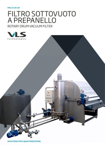 Rotary Drum Vacuum Filter - FRS 15-20-30