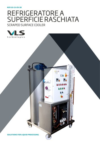 Scraped Surface Refrigerators - RCR 10-15-20-30
