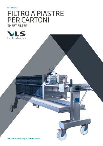 Sheet Filter - SFT 40