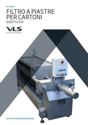 Sheet Filter - SFT 60