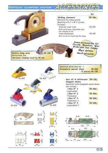 Vertical Clamping system