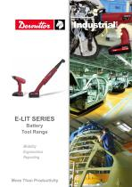 E-LIT SERIES Battery Tool Range