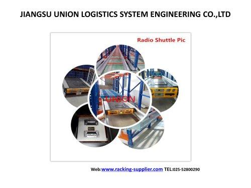 Système Shuttle Radio Racking