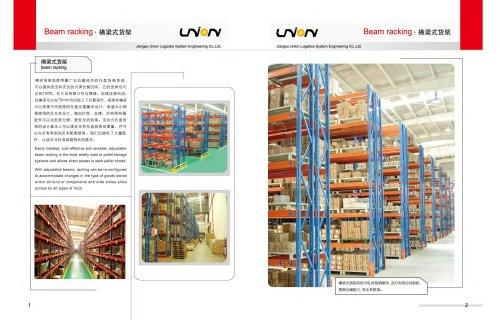 Union Pallet racking Beam Racking Logistics System