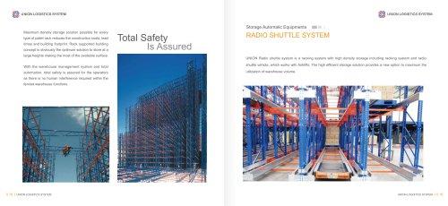 Union Warehouse Radio Shuttle Racking