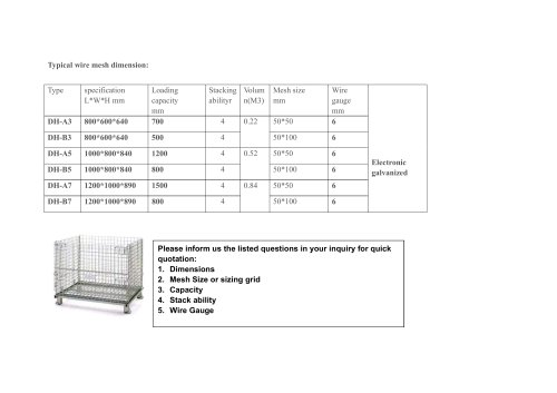 Union Wire Mesh cage with wheels
