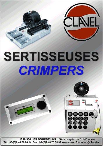 Catalog crimpers