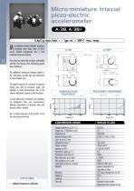 Piezo-Electric Accelerometers - A/38